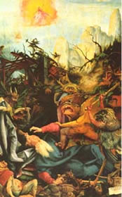 Grunewald: The Temptation of St. Anthony