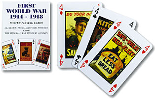 World War I playing cards