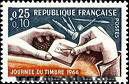 postage stamp from France
