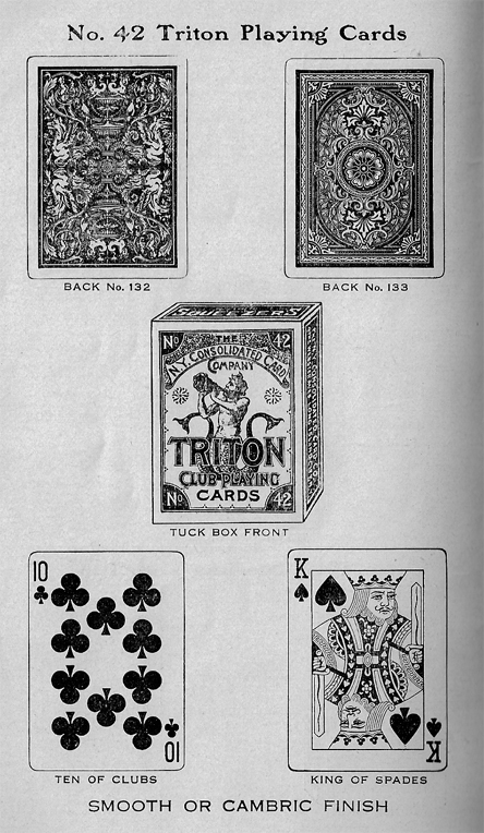 Triton Playing Cards