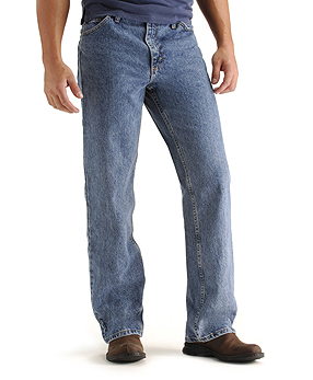 Bootcut Low Rise Mens Jeans