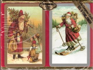 Victorian Santa Playing Cards